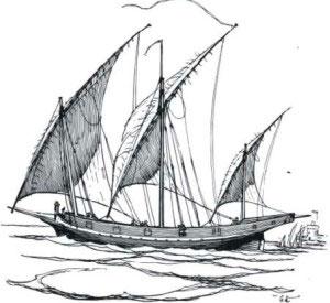 Di tengah-tengah samudera