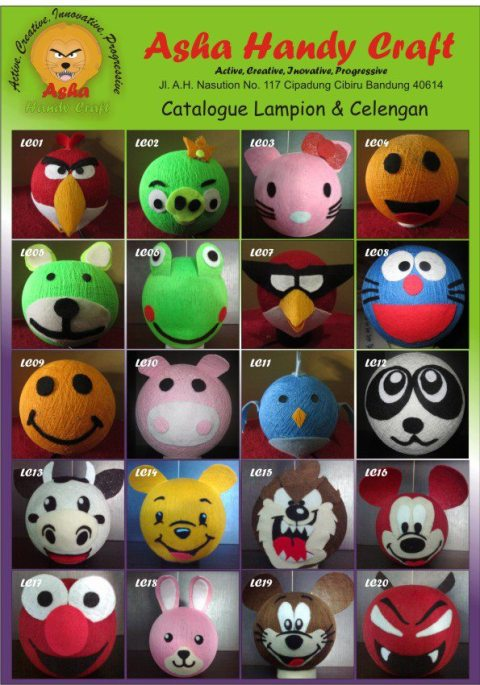 Catalogue Lampion & Celengan